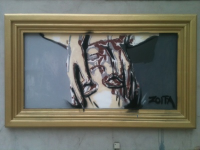 Zoita | The golden frame